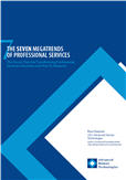 Cover: Seven MegaTrends of Professional Services