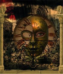 12. clockwork face George Boyce