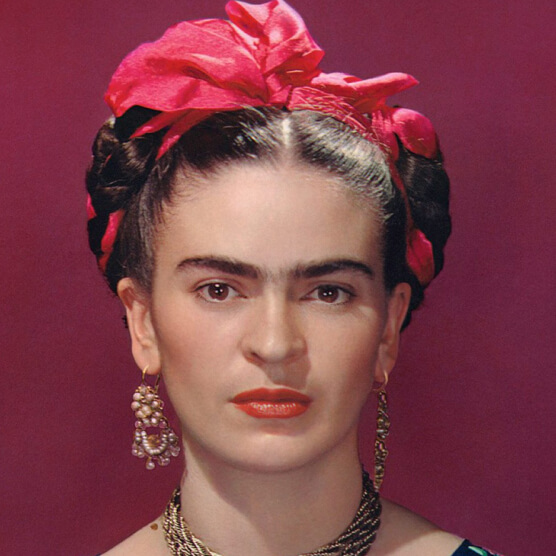 Source image of Frida Kahlo