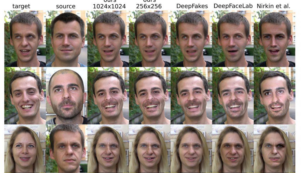 Disney deepfakes comparison