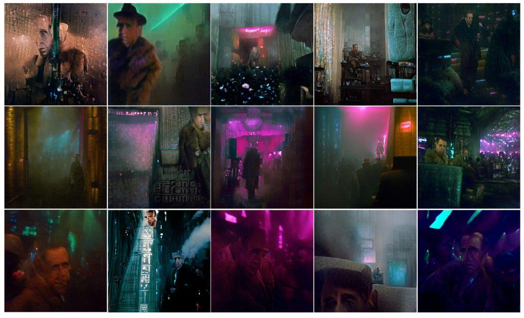 Humphrey Bogart in Blade Runner