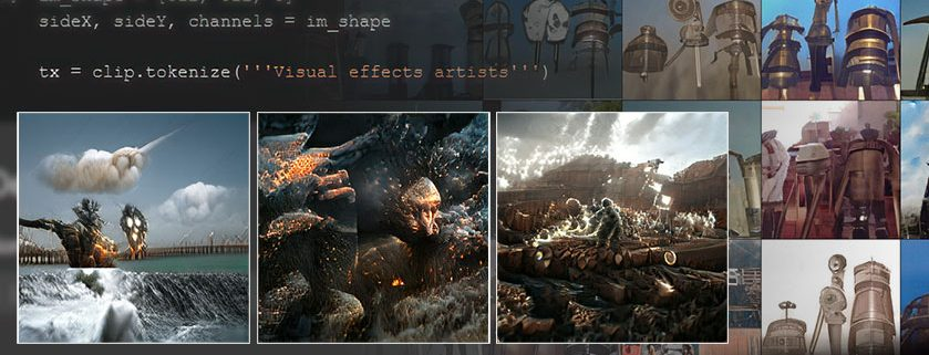 Images created by BigSleep