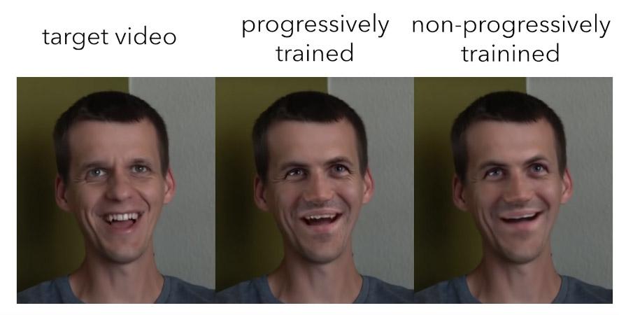 Progressive training